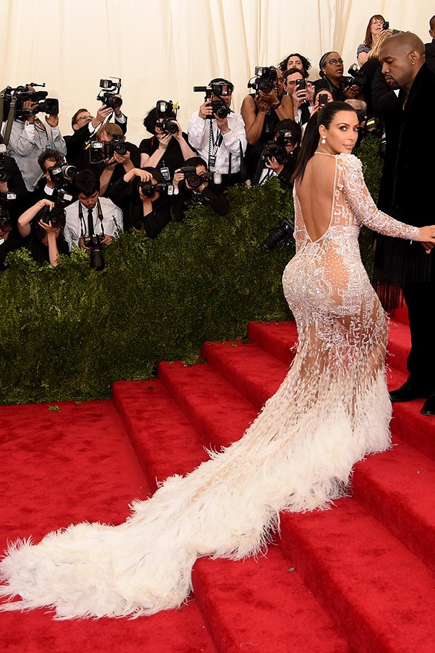 Ah, Kim K. At least she has the butt to do it.