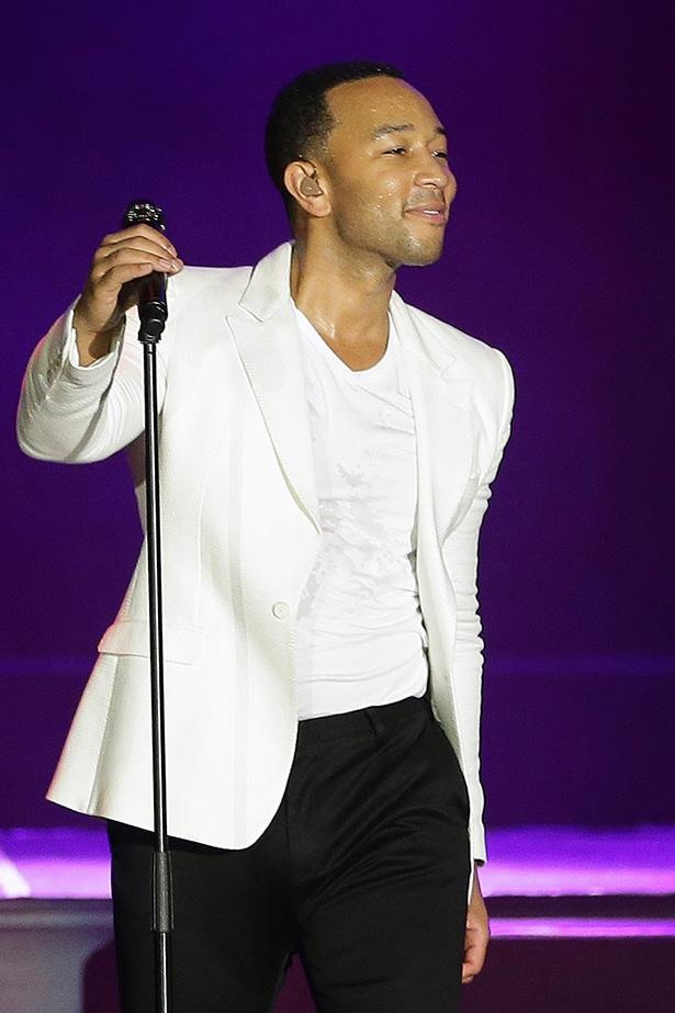 """At a 2013 Sound Of Change Live concert John Legend had this gem to impart: """"All men should be feminists. If men care about women's rights the world will be a better place... We are better off when women are empowered -- it leads to a better society."""""""