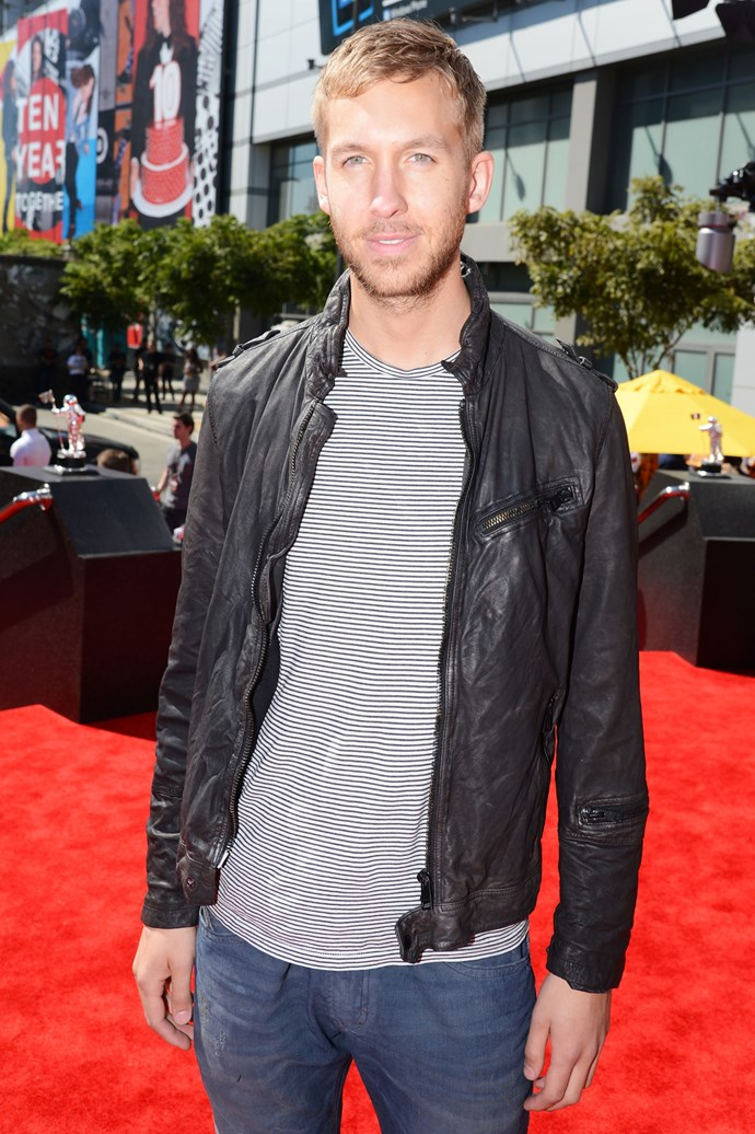 <strong>SEPTEMBER 06, 2012</strong><br><br> And wearing studly, not sparkly, leather jackets! <br><br> GETTY