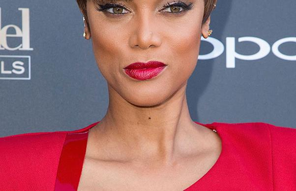 Tyra Banks has a bowl cut now