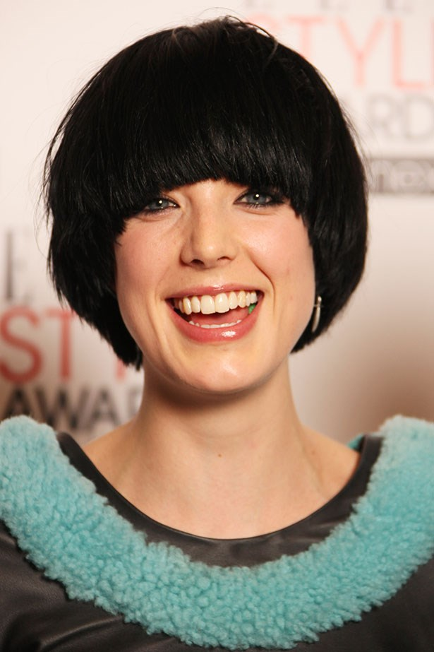 Agyness Deyn has always run her own race. Here she is with a bowl cut at the ELLE Style awards in 2010 in London.