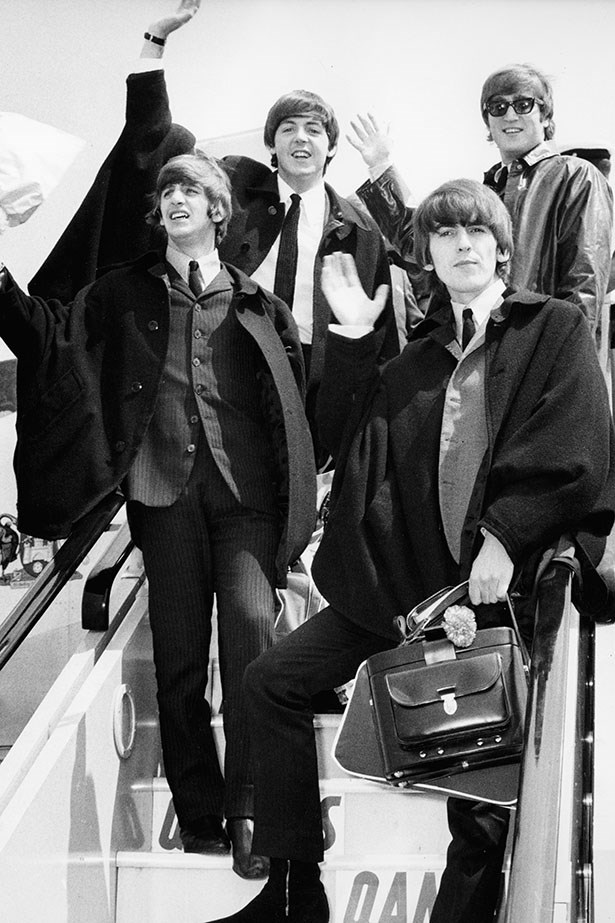 The Beatles. The originals of the bowl cut genre.