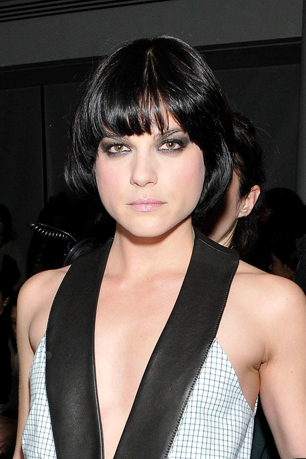 Selma Blair has tried the look more than once. Here she is circa 2009.