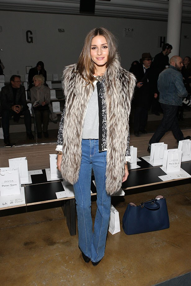 Olivia Palermo could pull off any trend but there's no denying she doesn't look great in a pair of flares.