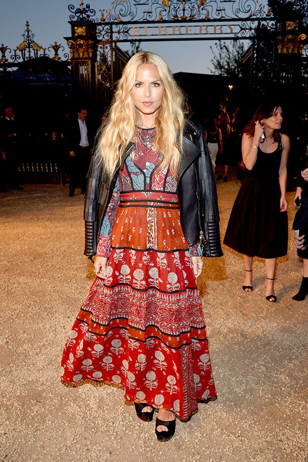 Rachel Zoe taught us out to wear boho, here she is again, teaching us how to wear the 70s.