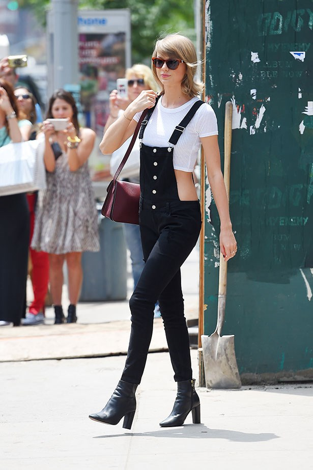 Even Taylor Swift took a step out of her preppy comfort zone and tried overalls. And you know whatever Taylor does, you should do...