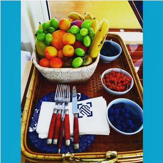 @oliviapalermo Feeling fruity!