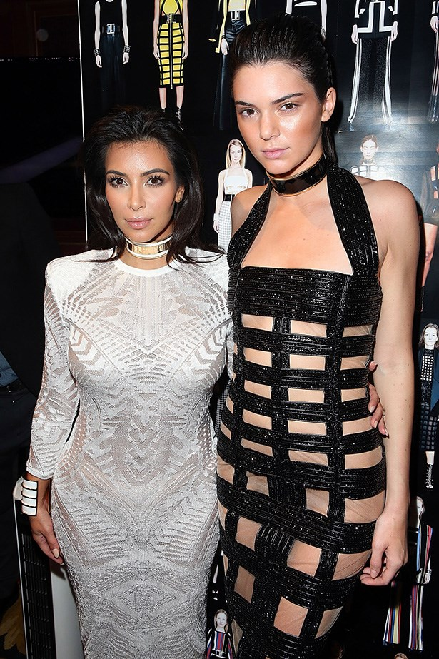 Arguably, Kim K and Kendall Jenner are the sisters with most high fashion clout (klout) in the family.