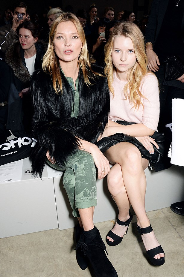 When you've got a sister as cool as Kate Moss life is pretty much made, huh Lottie?