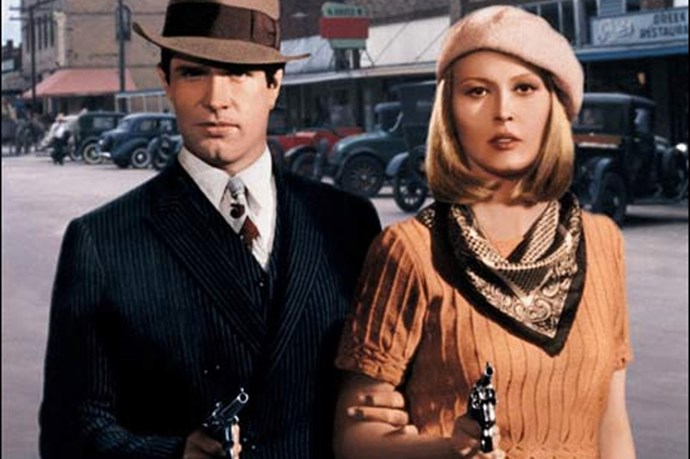Bank Robbery looked rather dapper in the 1967 film Bonnie and Clyde. Faye Dunaway's beret and bob was a pretty outstanding combination.