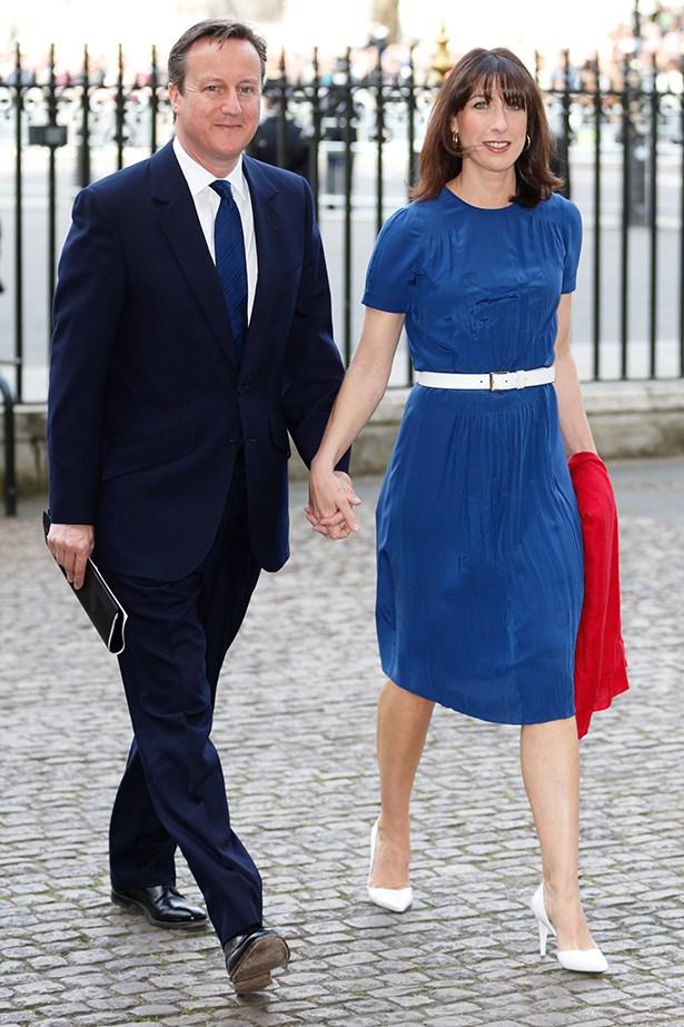 1. Samantha Cameron, wife of British Prime Minister David Cameron.