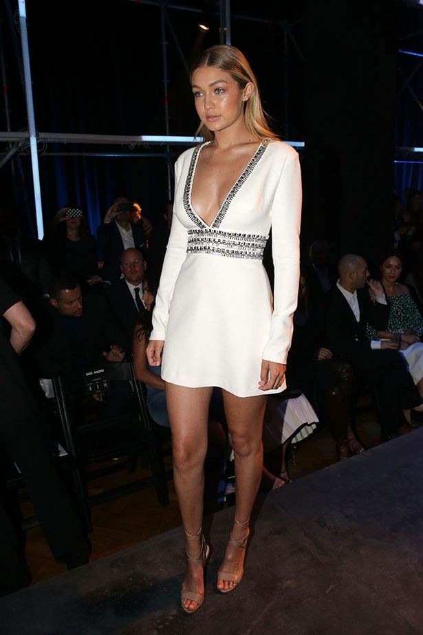 Gigi went sleek and sexy at the David Jones spring/summer launch.