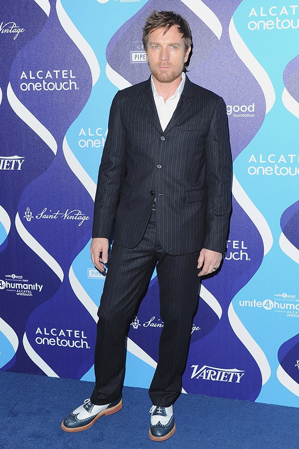 Ewan McGregor is a pioneer of the genre. It's all in the brogues right here.