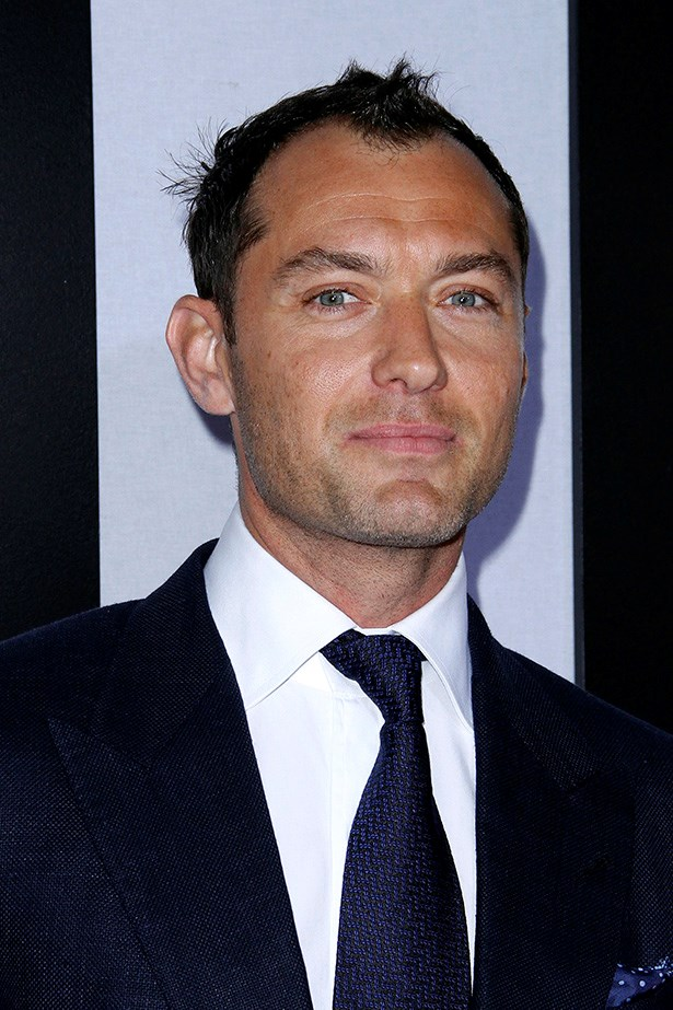 Jude Law, will smile when he wants to.