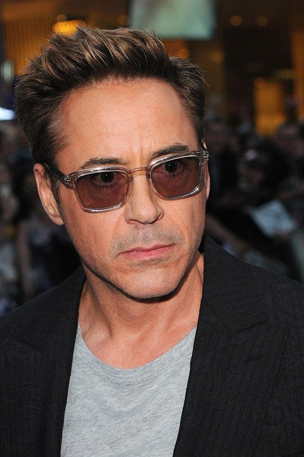 Robert Downey Jr. Sunglasses can't hide that RBF.