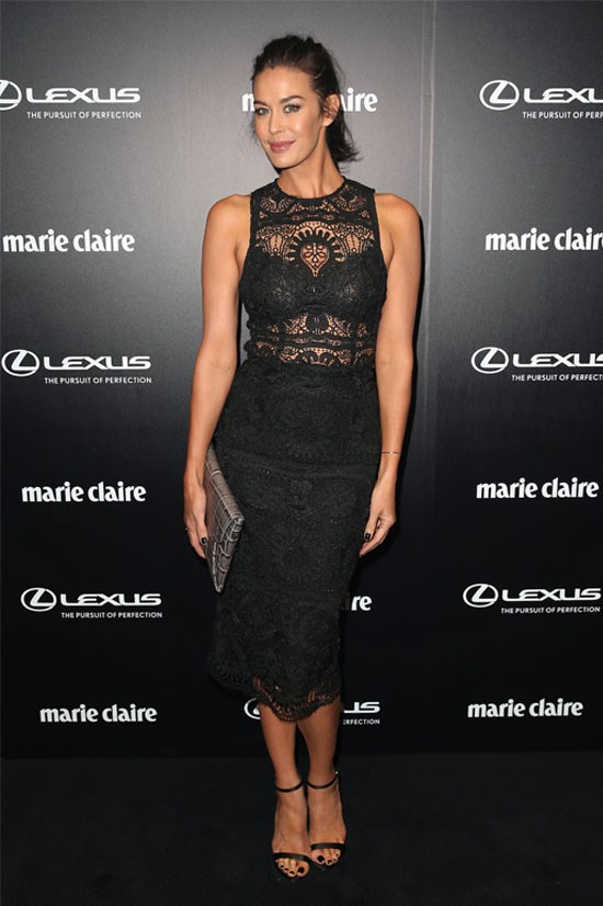 Megan Gale at the 2015 Prix De Marie Claire Awards.