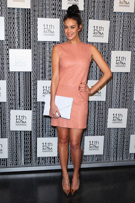 Megan Gale at the 2013 Astra Awards.