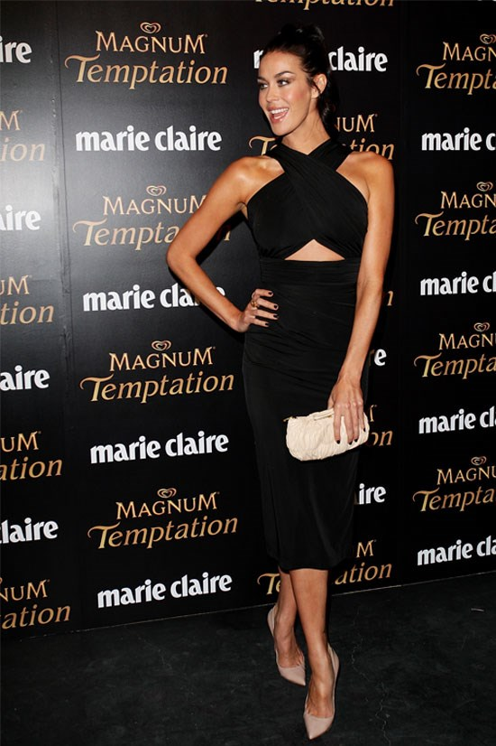 Megan Gale at the 2011 Prix De Marie Claire Awards.