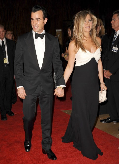 NOVEMBER 15, 2012 Tuxedo and tuxedo-inspired with Justin Theroux