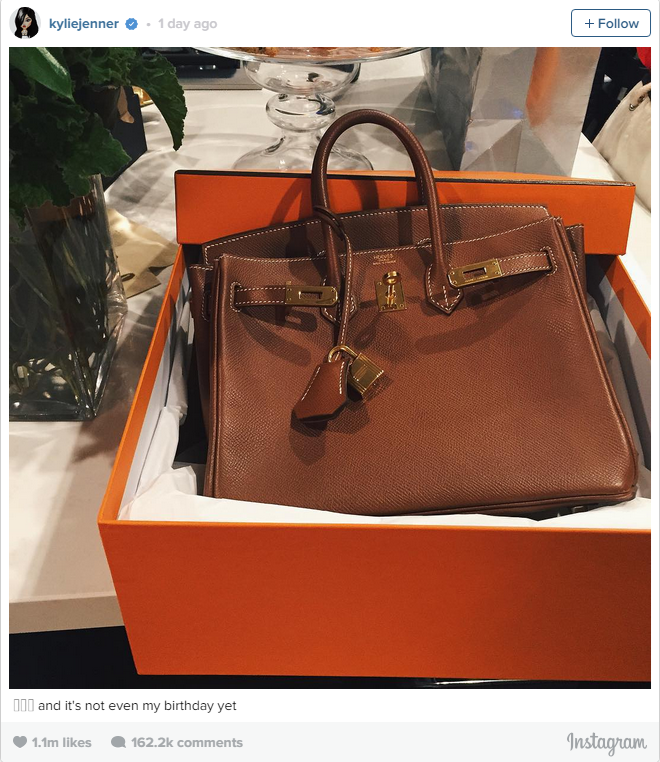 What's that? A Birkin? Sure! Hermès is what happy birthdays are made of.