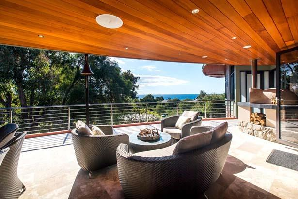 """<p><strong><a href=""""http://www.stayz.com.au/accommodation/wa/south-west/eagle-bay/167856"""">Southerly Ashore</a>, Eagle Bay, WA</strong></p> <p>Property Highlights: With stunning views and a spacious outdoor entertaining deck featuring a Mediterranean wood fire pizza oven, this is a great girls getaway hot spot. Up to eight guests can cook up a storm, enjoy the luxuries of great views and a spa and sauna. </p><br><br> <strong>Image courtesy of <a href=http://www.stayz.com.au/accommodation/wa/south-west/eagle-bay/167856"""">Stayz.com.au</a></strong>"""