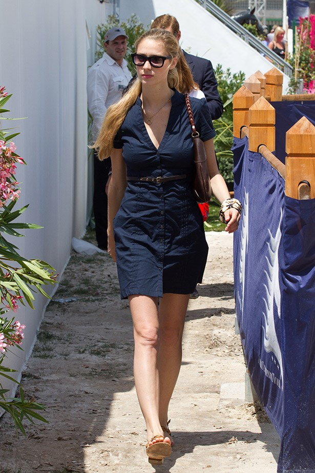 Beatrice Borromeo attends the '31st International Cannes Jumping' - Global Champion Tour 2012 on June 14, 2012 in Cannes, France.  (Photo by Marc Piasecki/WireImage)