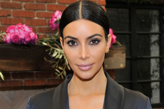 Kim Kardashian posted a nude pregnancy selfie for her haters