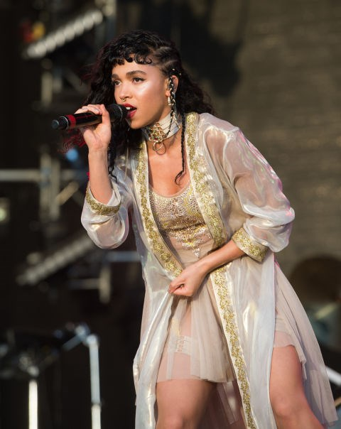 <strong>JUNE 28, 2015</strong> <BR> Performing at the Glastonbury Festival.