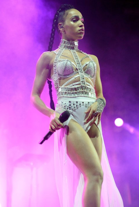 <strong>APRIL 18, 2015</strong> <BR> Performing onstage during day 2 of the 2015 Coachella Valley Music & Arts Festival.