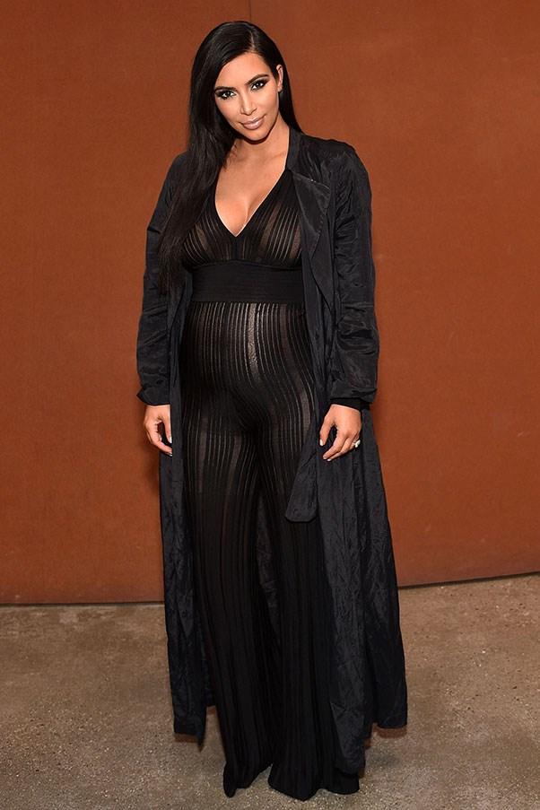An ode to Kim Kardashian's body-positive maternity style
