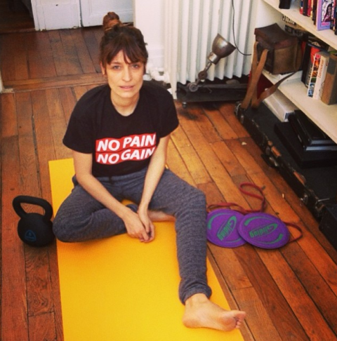 """<strong>CAROLINE DE MAIGRET</strong> <BR> """"I hate sport. I don't like watching it, I don't like doing it. Yes, I like to swim in the sea in the summer or play tennis with friends during my holidays. But that's not sport."""" <BR> —to <em>Into the Gloss</em>"""