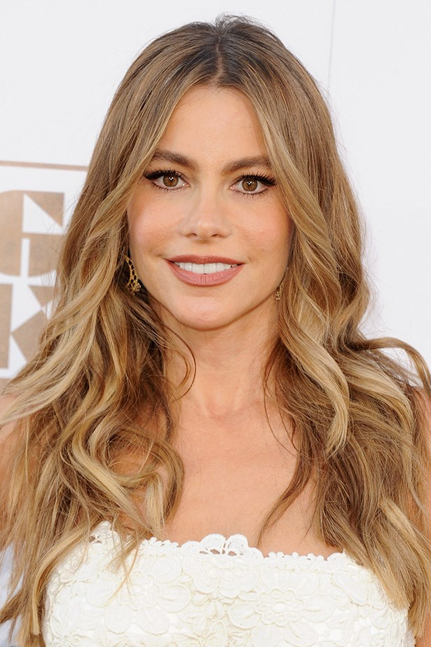 <strong>Sofia Vergara</strong> gets into the summer spirit, opting for a lighter all-over colour, adding beautiful depth to her bombshell locks.