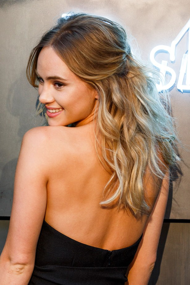 British model <strong>Suki Waterhouse </strong>looks positively angelic with her ombre locks.