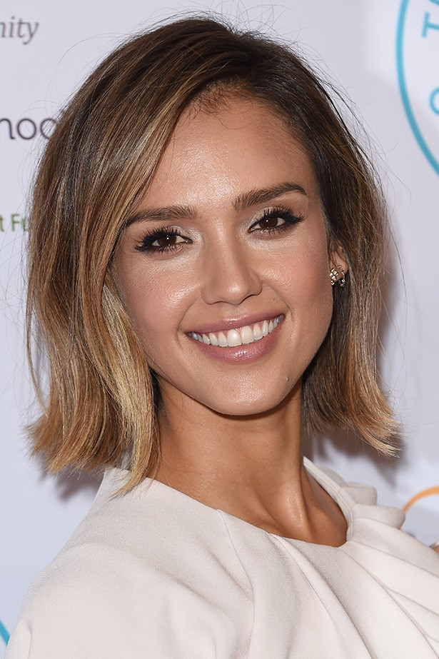 Pretty and polished, <strong>Jessica Alba </strong>proves that ombre isn't just reserved for street style mavens and those after the surfer girl aesthetic.