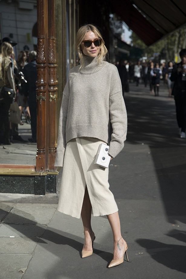 Danish stylish and fashion blogger Pernille-Teisbaek.