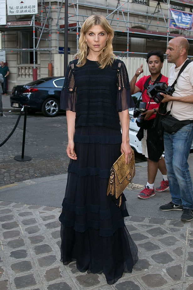French actress Clemence Poesy