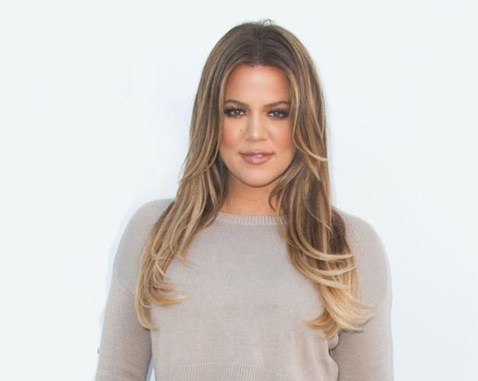Khloe Kardashian chartered a plane to get a burrito