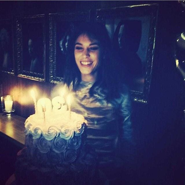 Make a wish Alexa Chung...