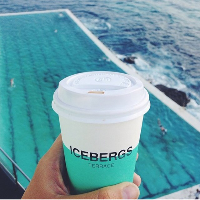 <p><strong>6. Coffee</strong></p> <p>Liking coffee is a prerequisite of signing up to Instagram, it's in their terms and conditions. And this backdrop of Bondi Iceburgs has us feeling #blessed and #grateful for Australia's great coffee.</p> <p>Image: bondilifestyle</p>