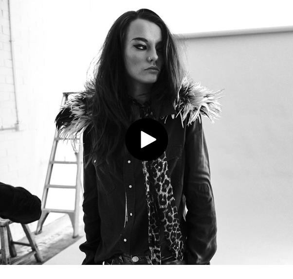 ELLE First Look BTS On Britt Beattie's Debut For One Teaspoon