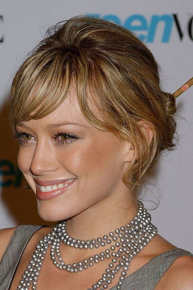 You probably stuck a chopstick in your hair for some reason that makes little sense. Image: Getty