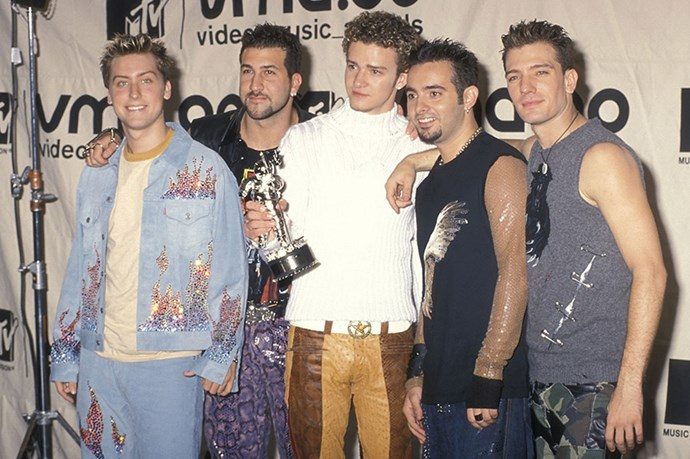 All of your boyfriend's looked like this. And that was awesome. Image: Getty