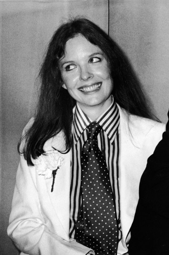 <strong>Diane Keaton</strong> at the 48th Academy Awards in 1976.