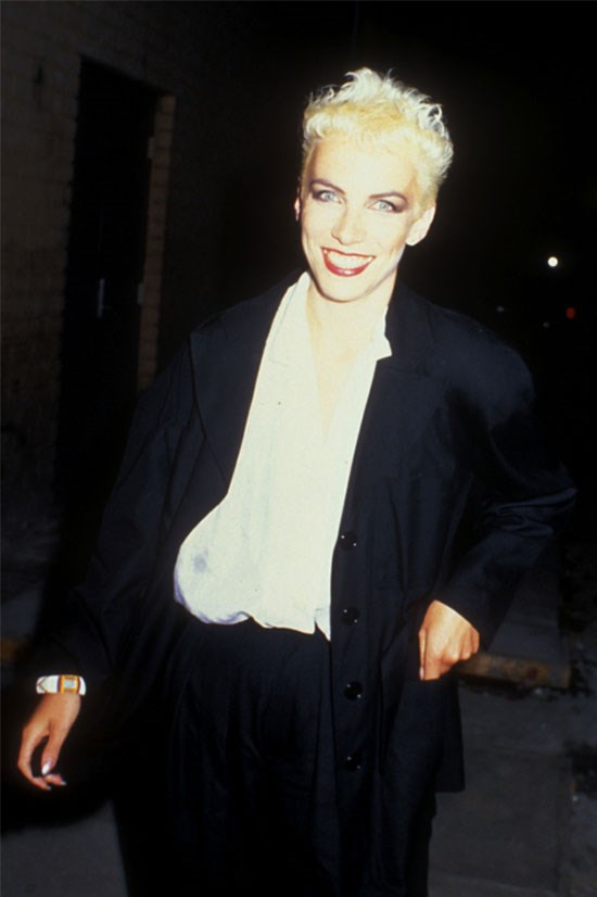 <strong>Annie Lennox</strong> in 1986.