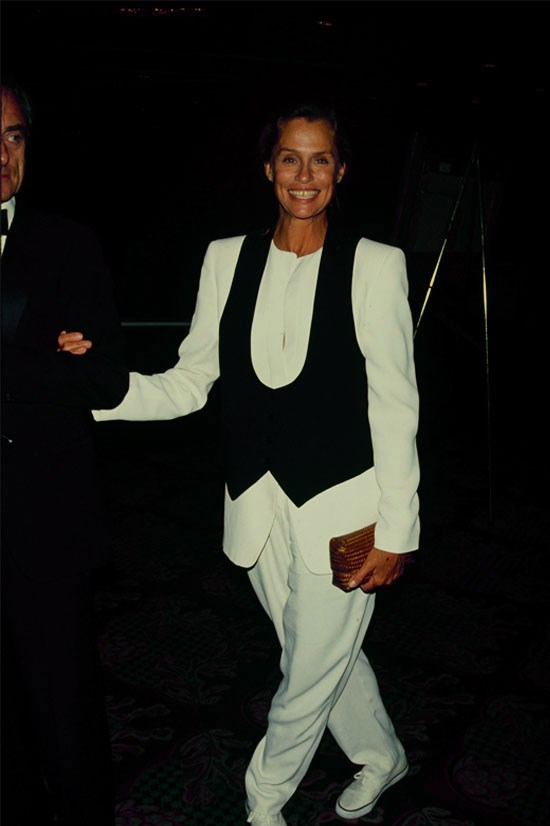 <strong>Lauren Hutton</strong> in 1990.