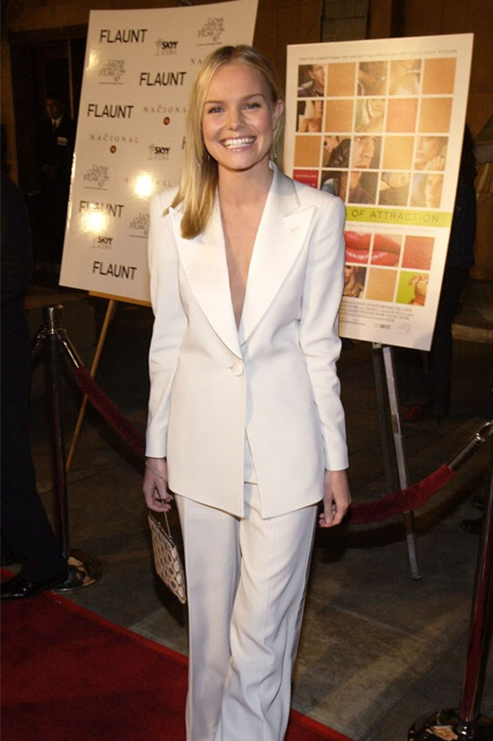 <strong>Kate Bosworth</strong> at the premiere of <em>The Rules Of Attraction</em> in 2002.