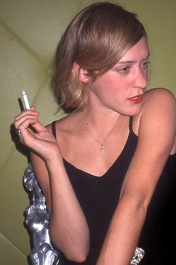 Chloe Sevigny, original it girl. She made her debut in the 1995 film Kids and we've been trying to copy her ever since.