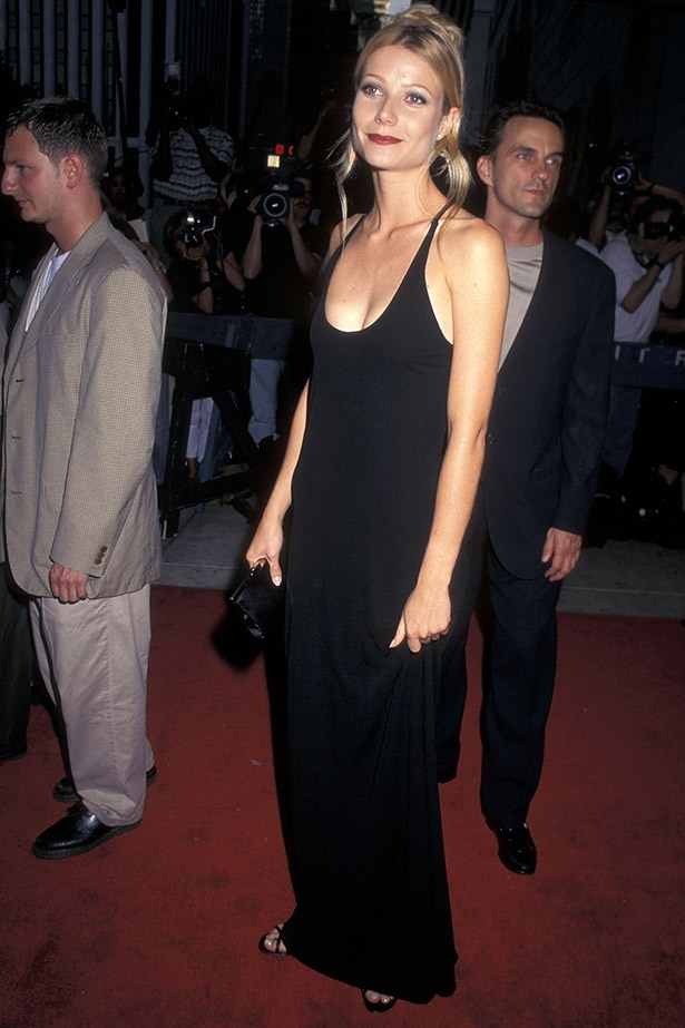 Gwyneth was 90s minimalism at its finest and her looks - from the time she got the exact same haircut as Brad Pitt (Sliding Doors era) to that pink Ralph Lauren dress she cried in at The Oscars.