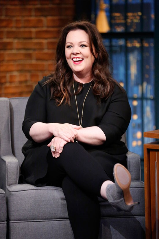 <strong>3. Melissa McCarthy</strong> earned US$23 million. She has been working on releasing an all sizes fashion line called Seven7, which aims to break down the barrier between 'plus size' and 'normal size'. Funny AND hard-working.
