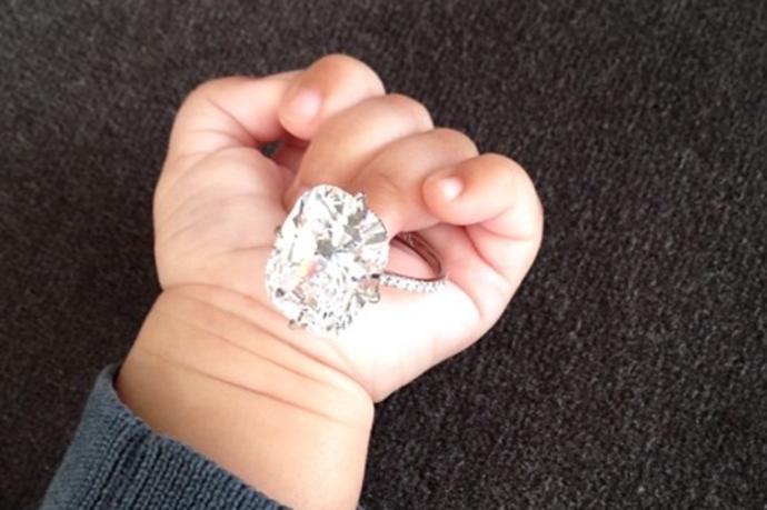 Hottest New Instagram Trend: Baby Hands